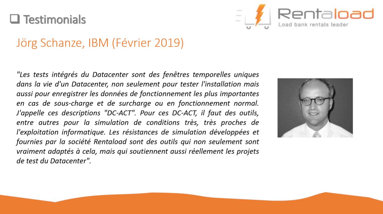 Témoignage client d'IBM (février 2019) - Rentaload