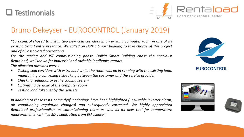 Testimonial EUROCONTROL 2019