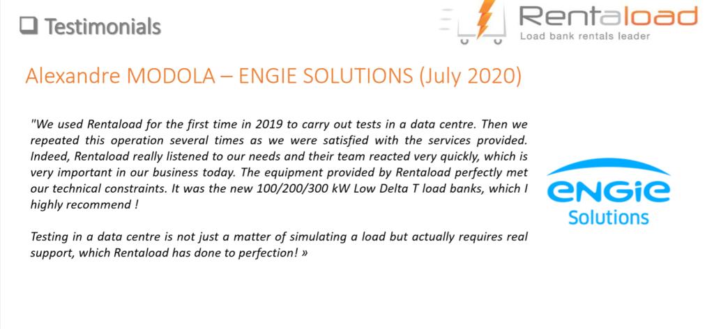 customer testimonial - Engie Solutions